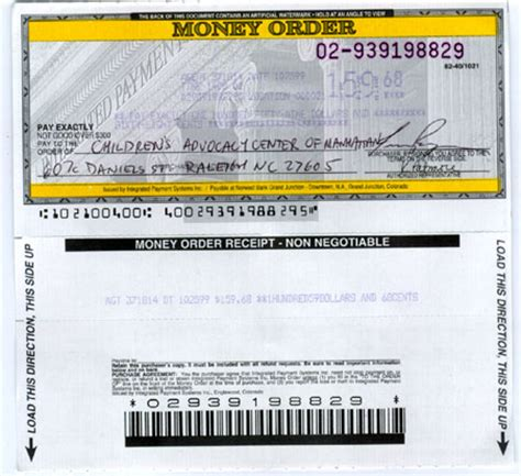 western union money order receipt template services welcome to c mart