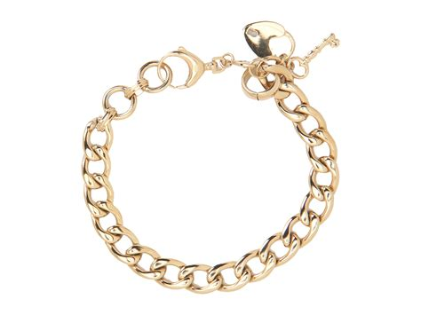 fossil vintage steel charm bracelet zappos free