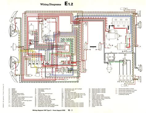 wiring diagram for 1971 vw tattlr info