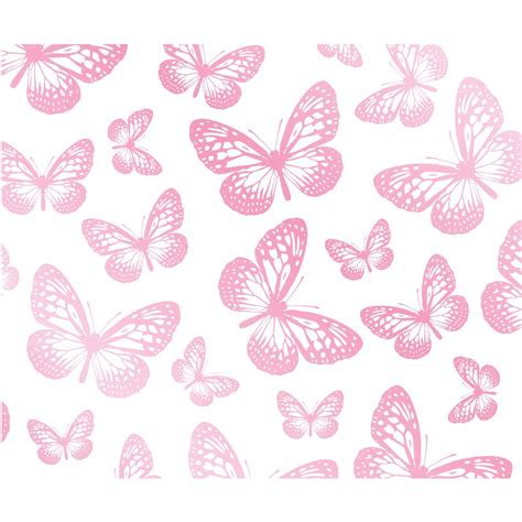 pink wallpaper decor butterfly wallpaper white pink fd40275 new butterflies