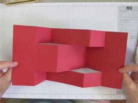how to make folded cards how to make a trifold shutter card base