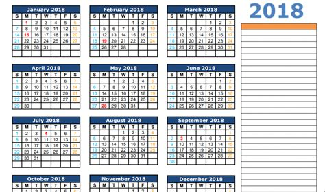 printable calendar 2018 microsoft office 50 calendar 2018 templates printable word pdf excel
