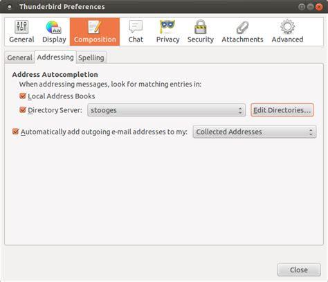 tutorial ldap linux linux ldap tutorial using email clients with an ldap