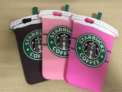 3d Silicone Starbuck Coffee Cup Casing For Iphone 5 5 10pcs lot 3d starbucks coffee cup style soft silicone phone cover for iphone 6