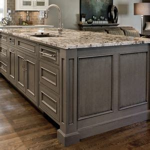 custom kitchen island with sink inset doors with beaded face frame openings gray painted