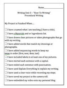procedural writing template grade 1 procedural writing unit mrs wideen s classroom