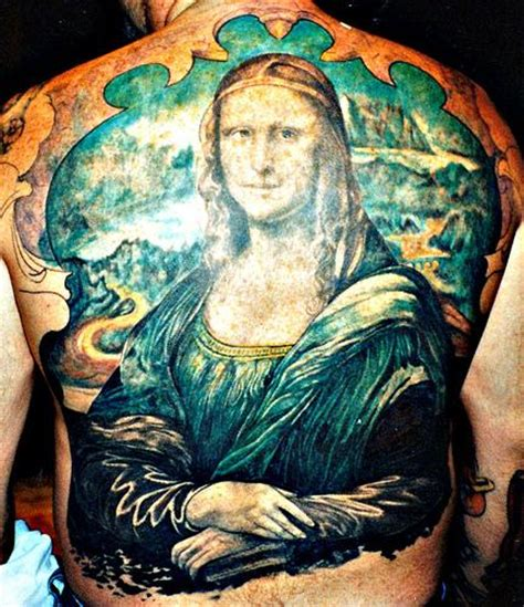 mona lisa tattoo stunning classical designs inspiring tattoos