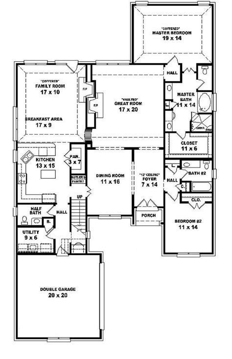 House Plans With Garage Under 1 5 story house floor plans ahscgs com