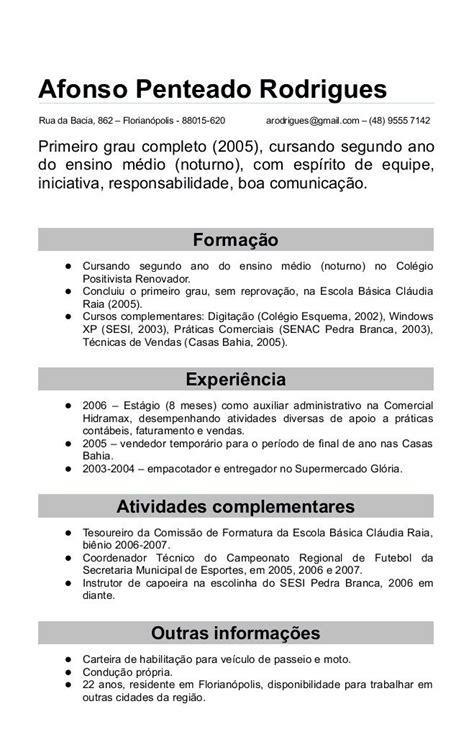 Modelo Oficial Curriculum Vitae España 25 Melhores Ideias Sobre Modelo De Curriculo Atualizado No Curr 237 Culo Modelo