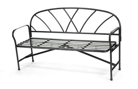 wrought iron backless bench wrought iron lattice bench