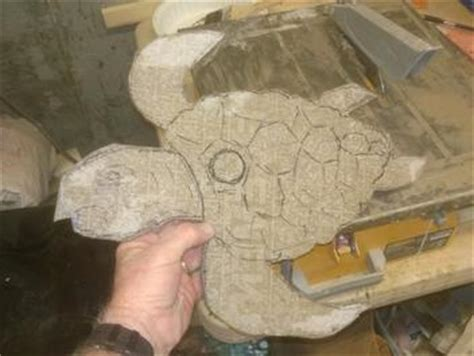 How To Make Paper Mache Waterproof - how to make a nautical fish or sea turtle shaped bird