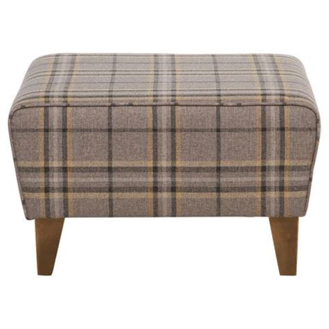Stool Checker by Buy Byron Footstool Slate Check From Our Foot Stools Range
