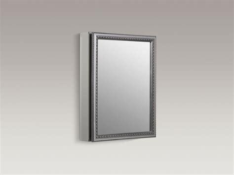 kohler aluminum frame medicine cabinets standard plumbing supply product kohler k cb clw2026ss