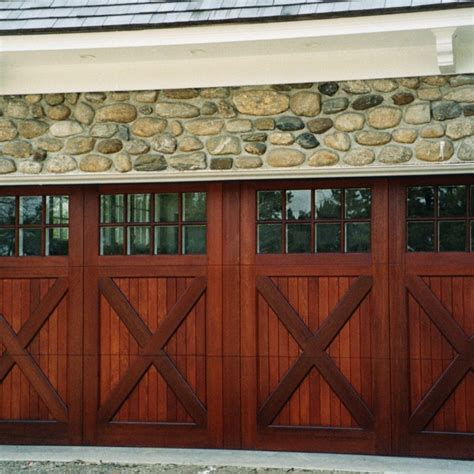 style garage top 10 types of carriage garage doors ward log homes