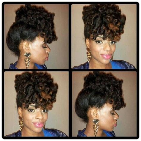 how to pin up natural hair flexi rod pinned up natural ii pinterest natural