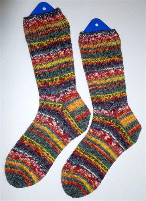 knit mens or womens wool socks opal sock yarn o
