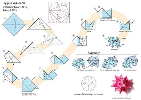 Origami Kusudama Diagrams - 17 best images about kusudama on origami