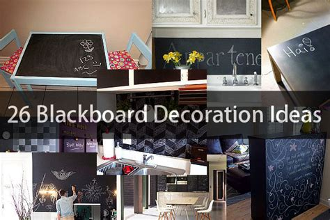 26 blackboard decoration ideas dvhome architects