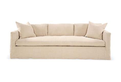 oatmeal couch francis linen slipcover sofa oatmeal