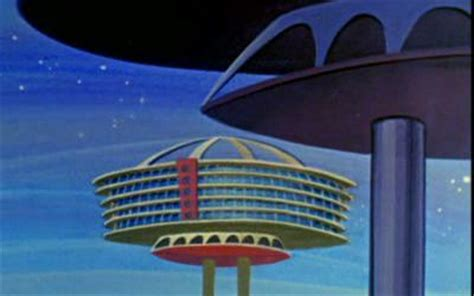 jetsons house eye of the fish a wide angle view of architecture urban
