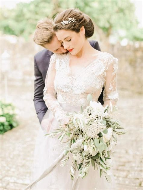 Simple And Elegant Italian Style Wedding Inspiration
