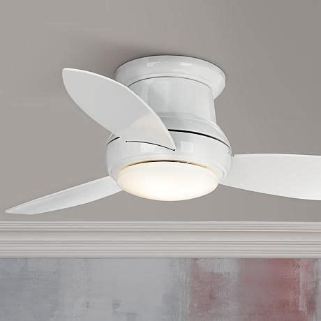 44 Minka Aire Concept Ii White Hugger Ceiling Fan by 17 Best Images About Lighting On Ceiling