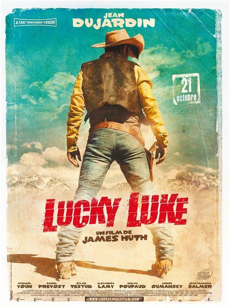cowboy film izle lucky luke avec jean dujardin l affiche en haute r 233 solution