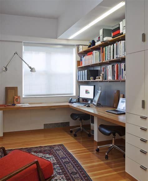 Office Corner Shelf by 20 Home Office Bookshelves Designs Ideas Design Trends