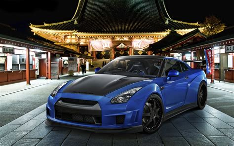 Blue Nissan Gtr Wallpaper Gt R Nismo Nissan R35 Tuning Supercar Coupe Japan Cars