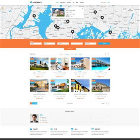bootstrap themes rental wordpress real estate themes