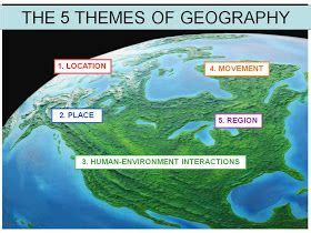 5 themes of geography tennessee 336 best images about 6th grade social studies on