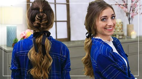 hairstyles for school vivian v how to create a fishtail pony cute girls hairstyles