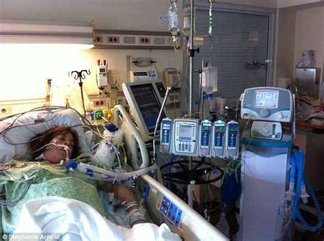 2nd delivery after c section stephanie arnold dies for 37 seconds during c section to