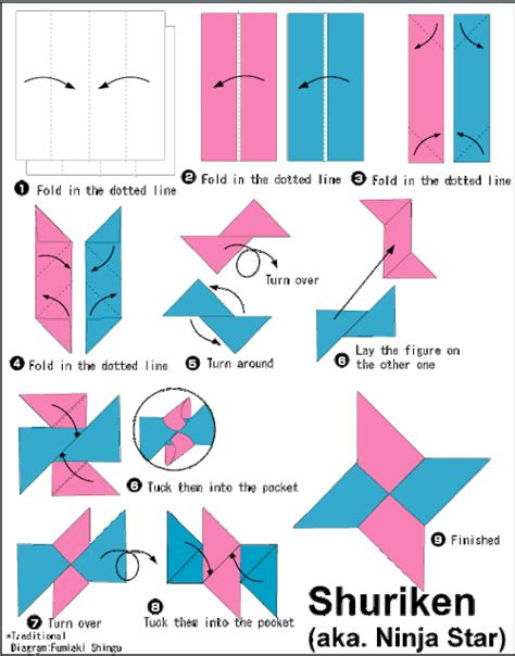 Steps To Make A Paper - origami