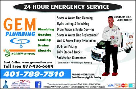 Gem Plumbing by Gem Plumbing Heating Air Conditioning Yellowbook