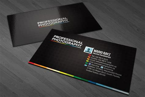 design grafis business card 40 creative black business card designs flashuser