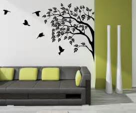 wall paint decoration for your home interior with stunning tree images wall art