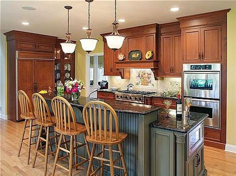 Traditional Kitchen Island by Kitchen Design Styles Building Ideas