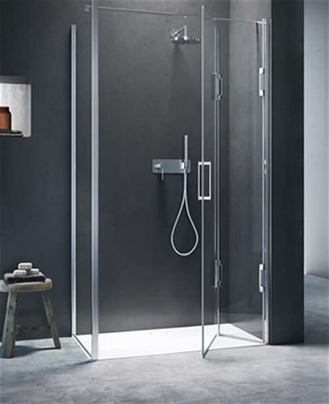docce complete cabina doccia angolare con apertura a libro thiesi
