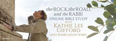 kathie lee gifford devotional kathie lee gifford s the rock the road and the rabbi