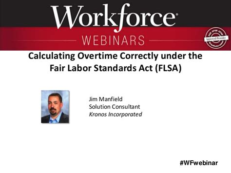 Fair Labor Standards Act Section 7 by Calculating Overtime Correctly The Fair Labor