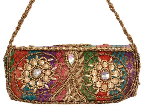 indian beaded purses antique vintage style indian handbag beaded clutch