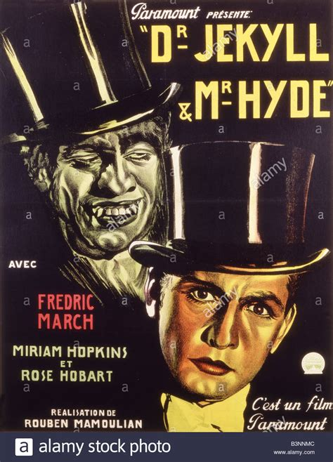 strange of dr jekyll and mr hyde dr jekyll mr hyde poster for 1931 paramount with