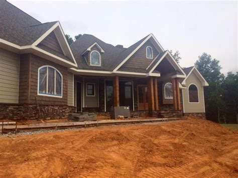 tranquility 5641 house plan house plans by garrell july 2014 stain completed on shakes garrell associates