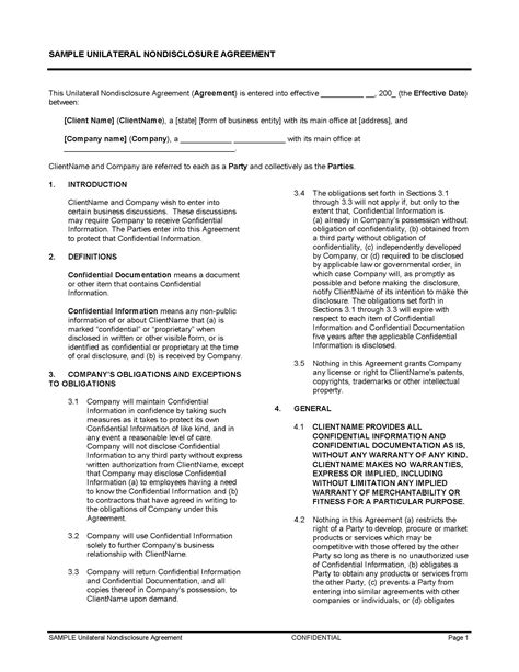 unilateral contract legalforms org