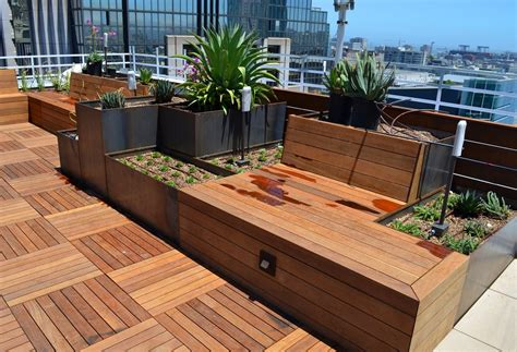 roof terrace nice planter llc