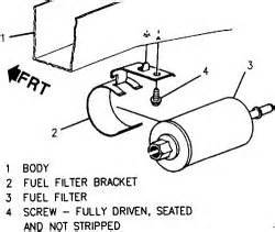 where is the fuel vapor canister located on a 2005 malibu