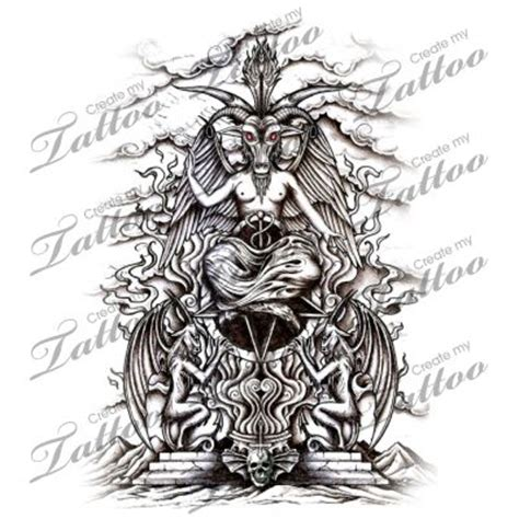 marketplace tattoo throne of baphomet 9473