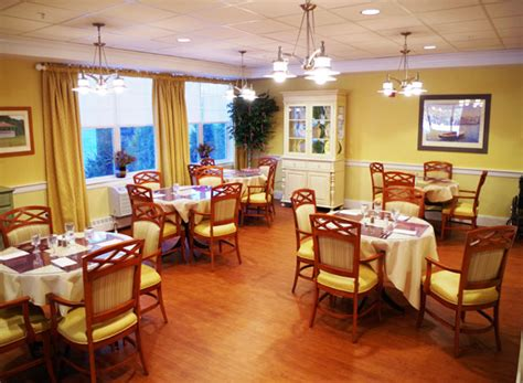 Assisted Living Dining Room by Welch Senior Living Allerton House Assisted Living