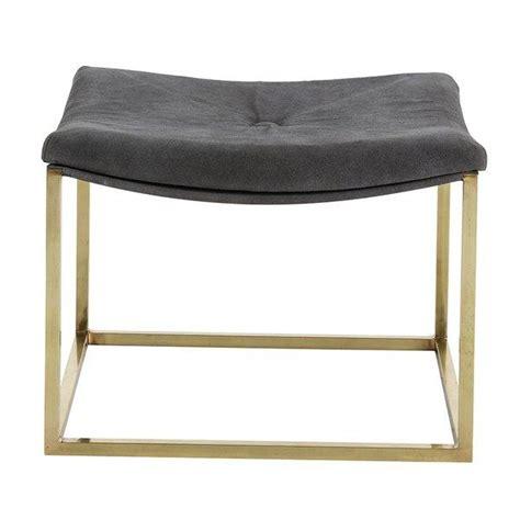 gray bathroom vanity stool smith square gray brass vanity stool